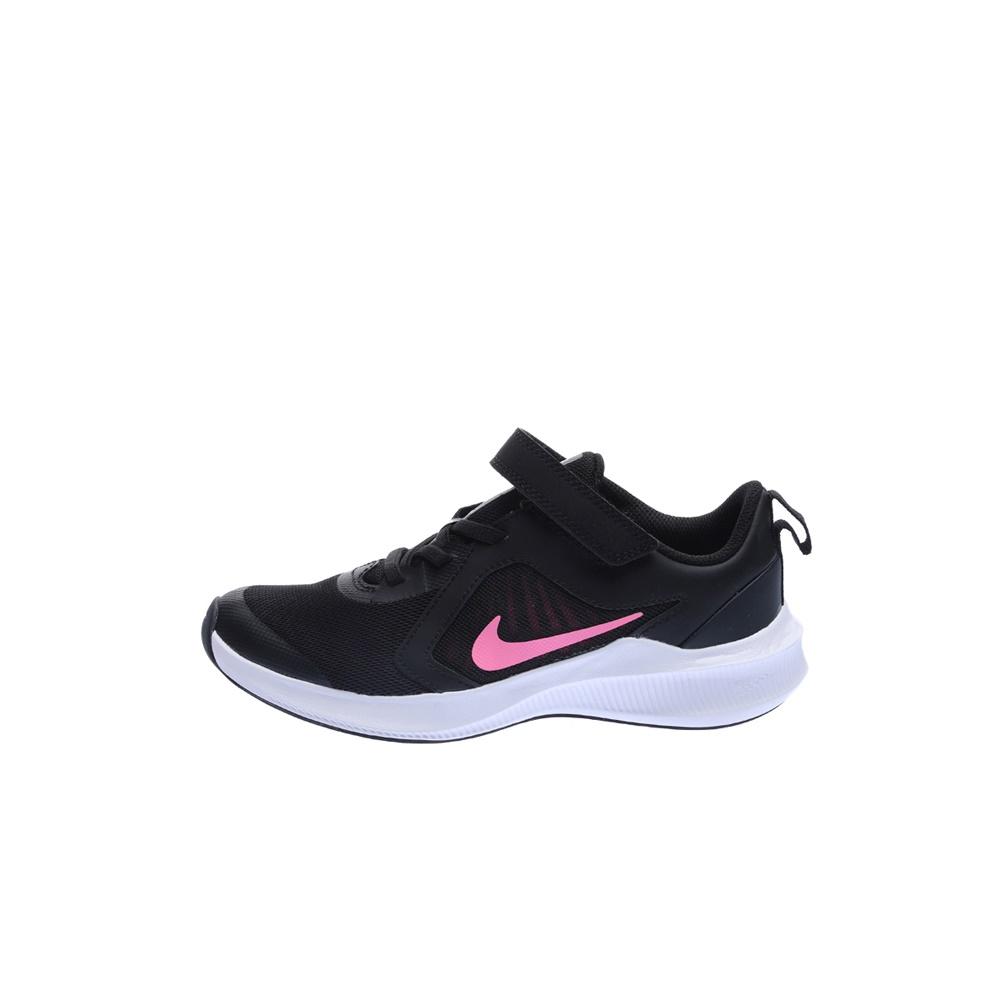 NIKE – Παιδικά παπούτσια running NIKE DOWNSHIFTER 10 (PSV) μαύρα