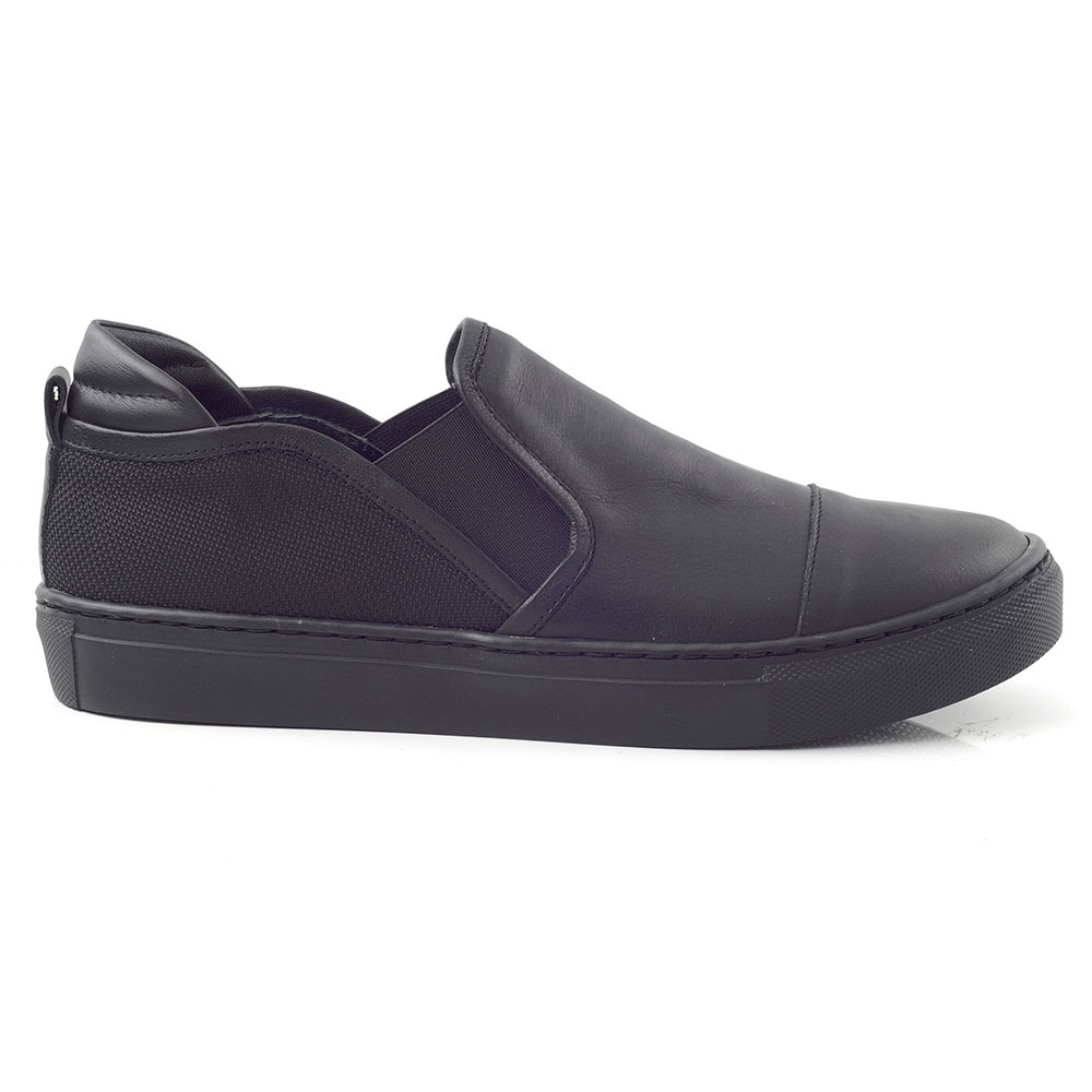 CHANIOTAKIS – Γυναικεία slip-on SPORT NAPPA CHANIOTAKIS μαύρα