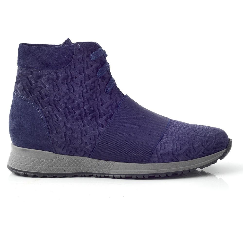 CHANIOTAKIS – Γυναικεία ψηλά sneakers SPORT ADRIANO CHANIOTAKIS μπλε