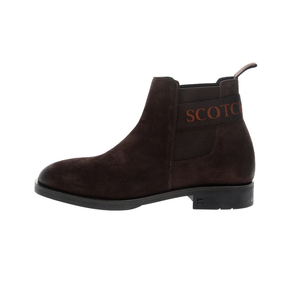 SCOTCH & SODA – Ανδρικά μποτάκια SCOTCH & SODA PICARO καφέ