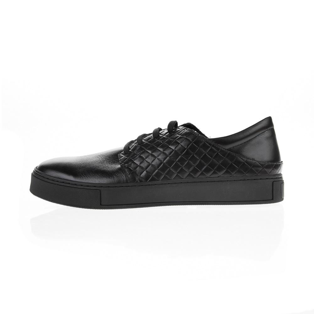 CHANIOTAKIS - Ανδρικά δετά παπούτσια CHANIOTAKIS SPORT SIERRA μαύρα