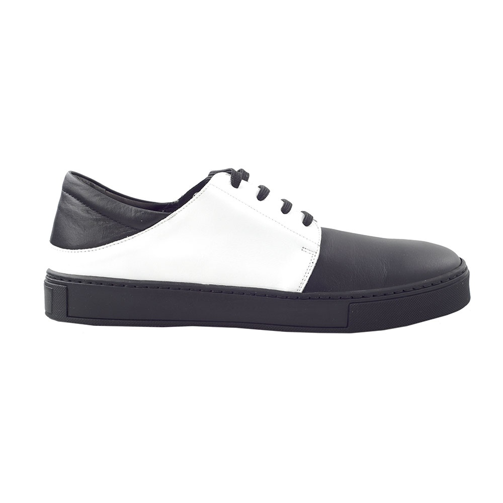 CHANIOTAKIS – Ανδρικά sneakers CHANIOTAKIS SPORT SIERRA ασπρόμαυρα