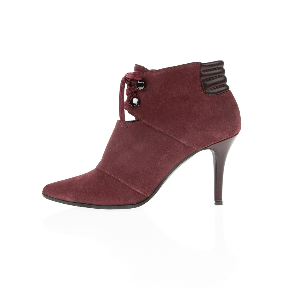 CHANIOTAKIS – Γυναικεία μποτάκια CHANIOTAKIS ANKLE-BOOT SOFTY 2404 κόκκινα