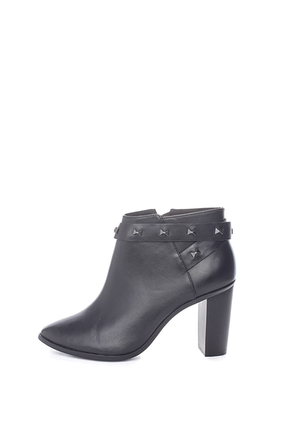 TED BAKER – Γυναικεία δερμάτινα ankle boots TED BAKER DOTTAA μαύρα