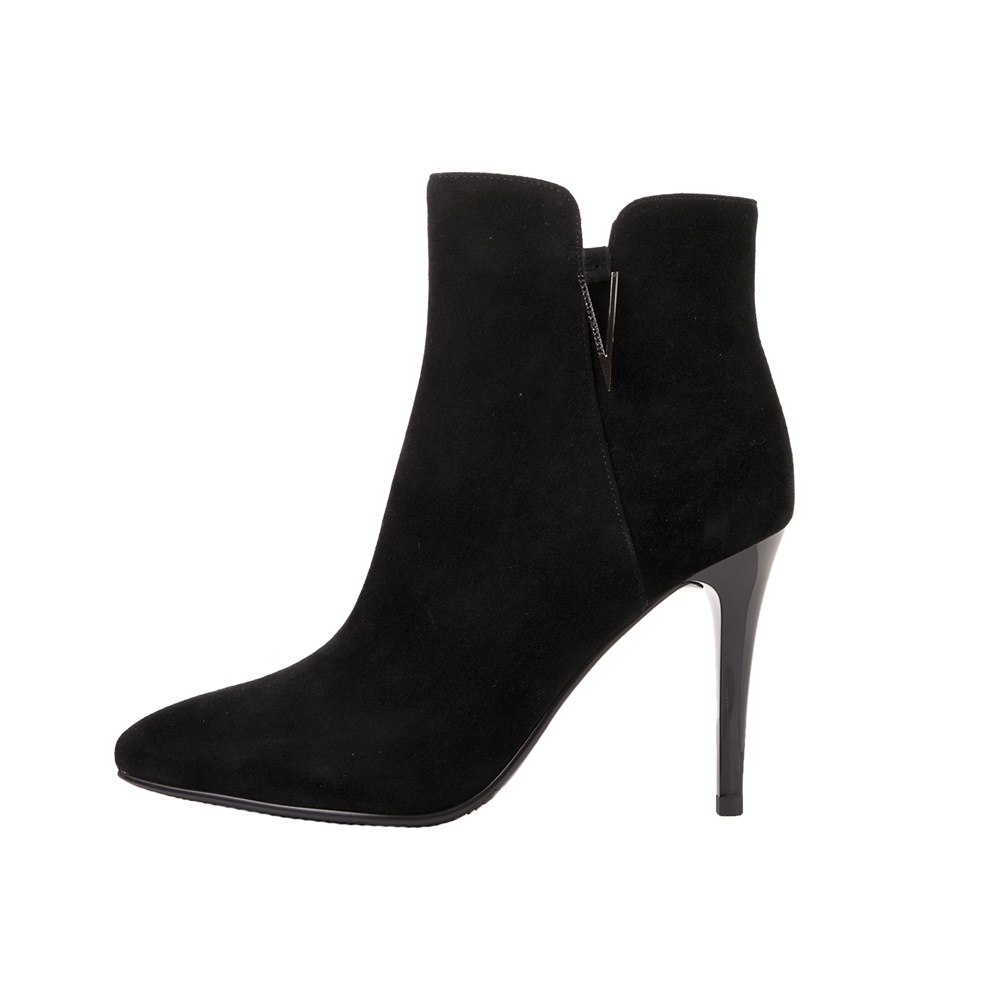 19V69 ITALIA - Γυναικεία μποτάκια 19V69 ITALIA HIGH HEEL ANKLE BOOTS μαύρα