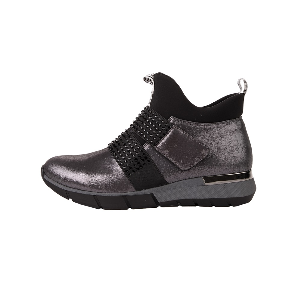 VERSACE 19V69 ABBIGLIAMENTO SPORTIVO SRL – Γυναικεία sneakers VERSACE 19V69 μαύρα