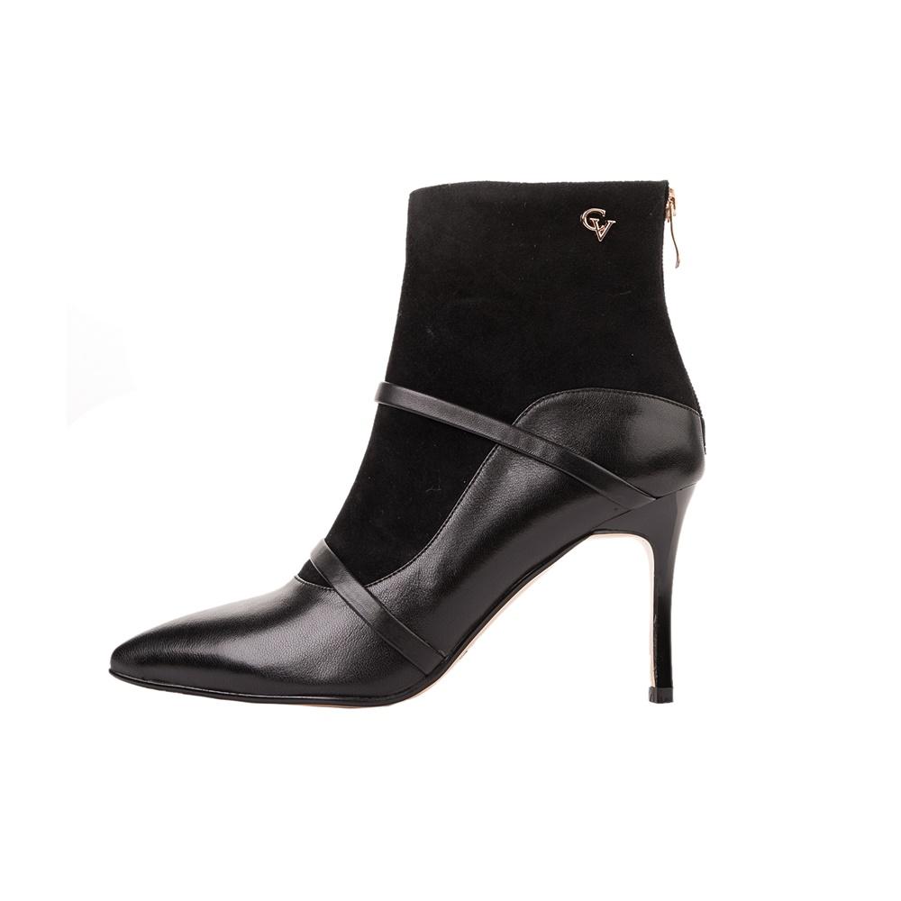 CHEVALIER – Γυναικεία μποτάκια CHEVALIER ANKLE BOOTS μαύρα