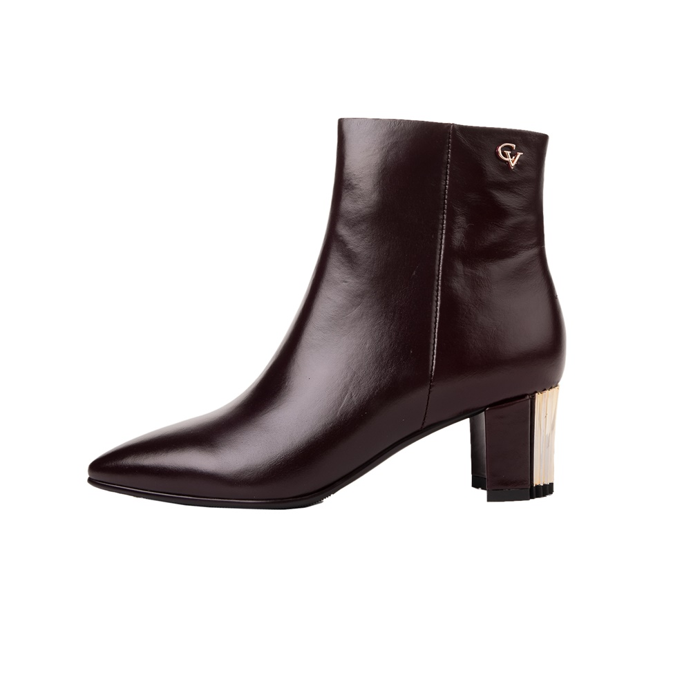 CHEVALIER – Γυναικεία μποτάκια CHEVALIER ANKLE BOOTS μπορντό
