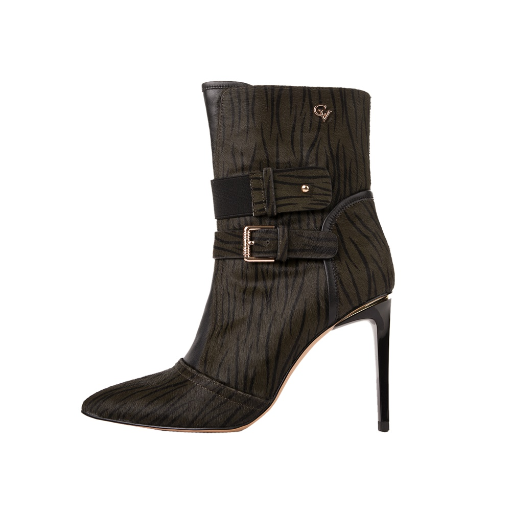 CHEVALIER – Γυναικεία μποτάκια CHEVALIER HIGH HEEL ANKLE BOOTS πράσινα
