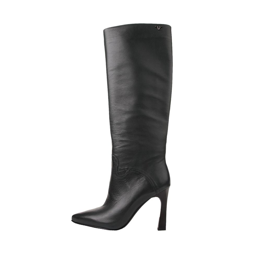VERSACE 19V69 ABBIGLIAMENTO SPORTIVO SRL – Γυναικείες μπότες VERSACE 19V6 HIGH HEEL BOOT LEA πράσινες