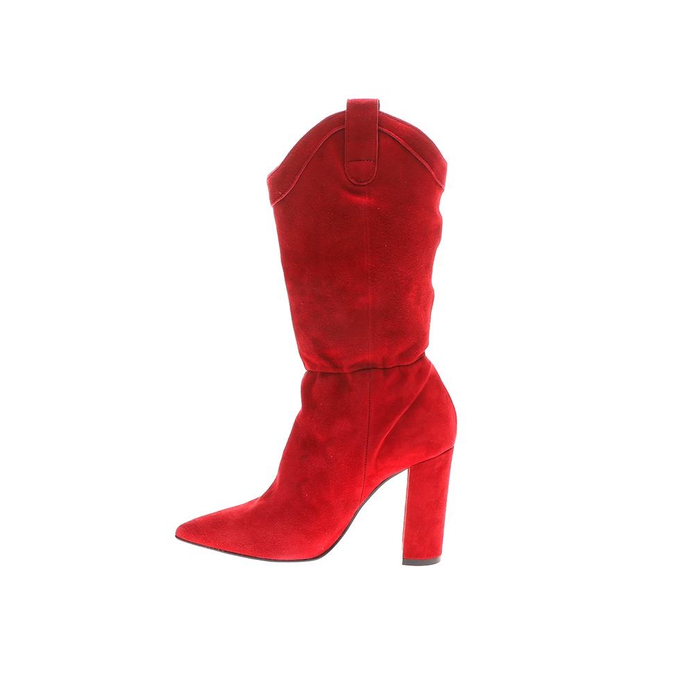 WALL STREET – Γυναικείες μπότες ADAMS WALL STREET κόκκινες