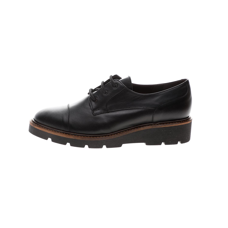 CHANIOTAKIS – Γυναικεία παπούτσια loafer CHANIOTAKIS TRESOR μαύρα