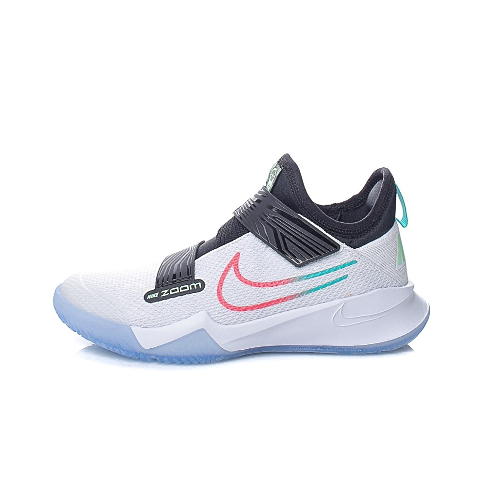 NIKE – Παιδικά παπούτσια μπάσκετ NIKE ZOOM FLIGHT (GS) λευκά