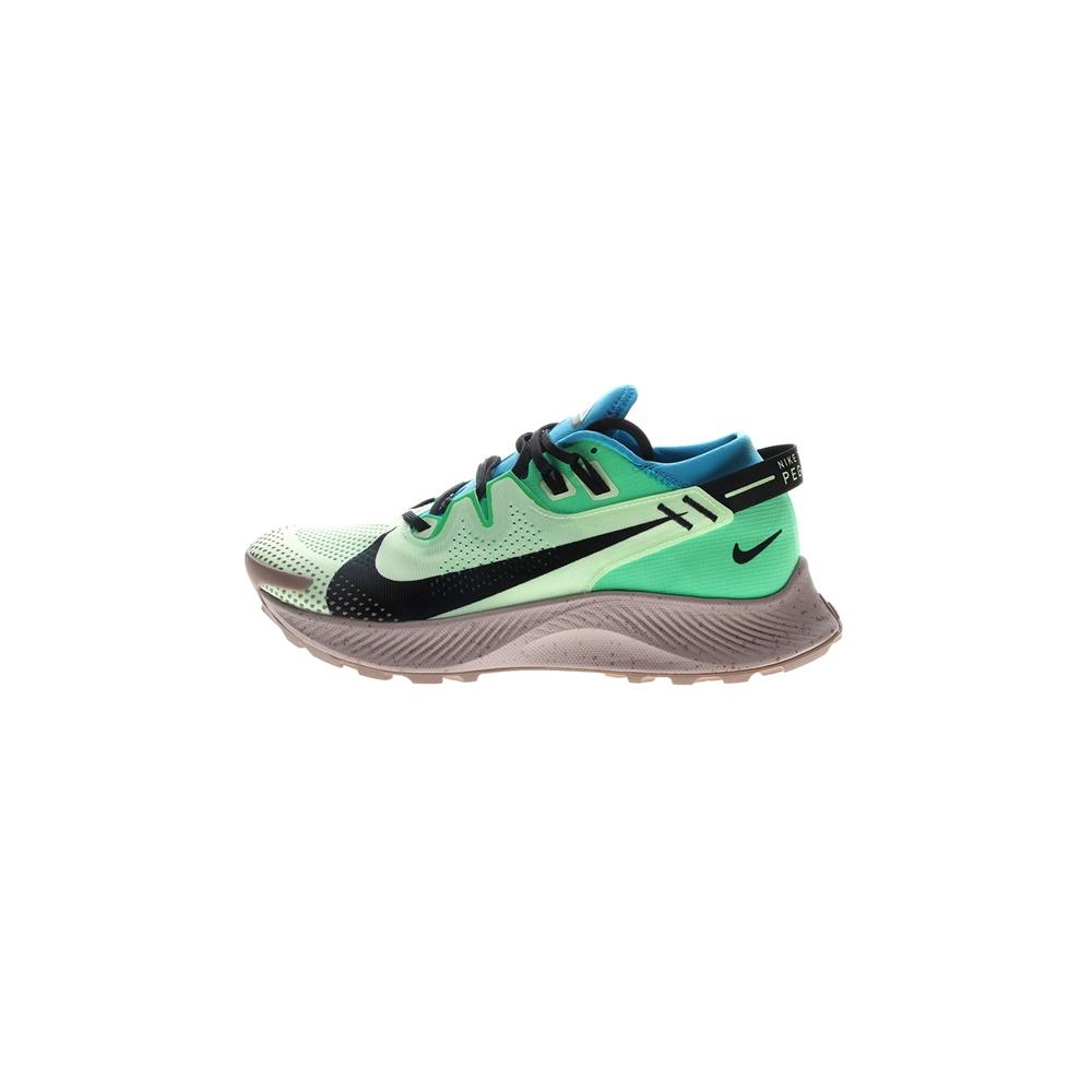 NIKE – Ανδρικά παπούτσια running NIKE PEGASUS TRAIL 2 πράσινα μαύρα
