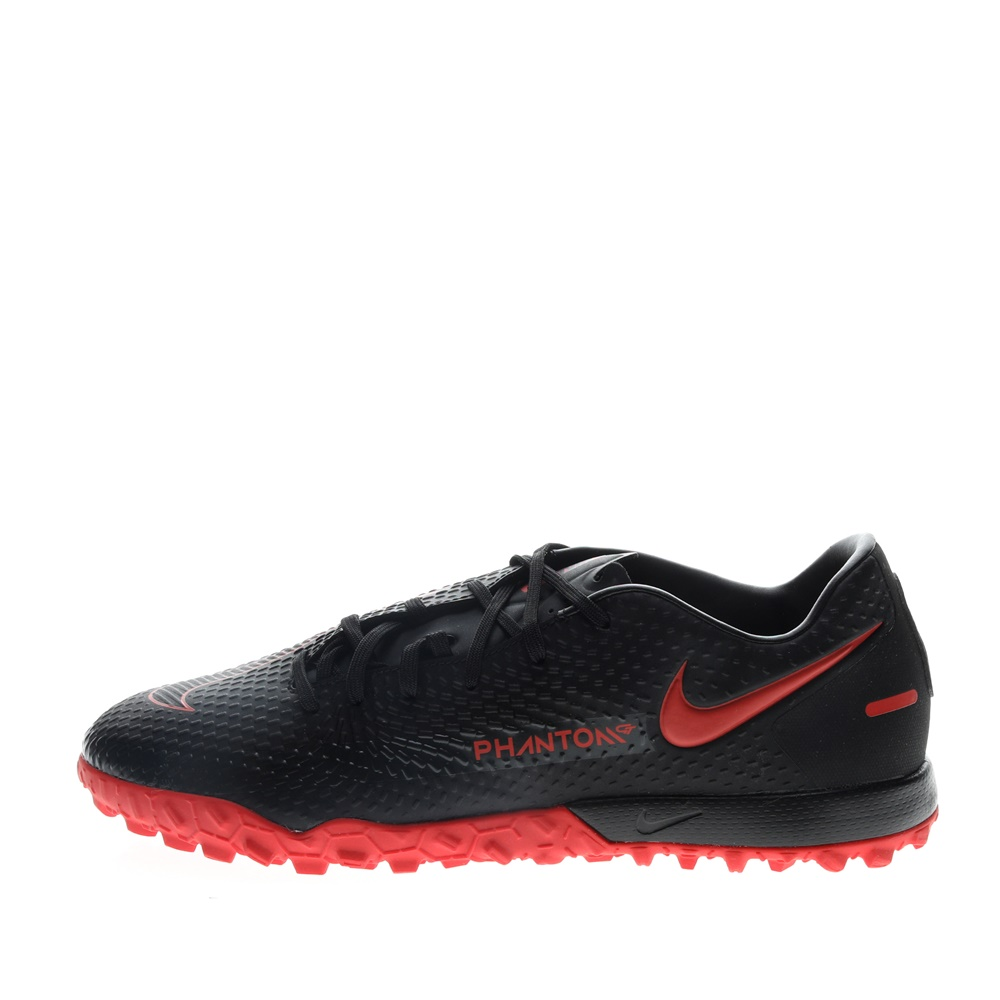 NIKE – Unisex παπούτσια football NIKE PHANTOM GT ACADEMY TF μαύρα κόκκινα