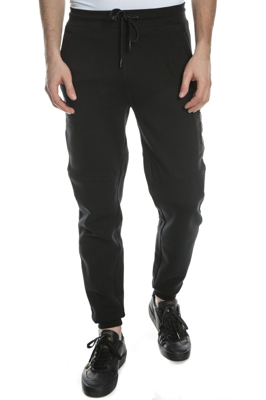 SCOTCH & SODA - Ανδρικό παντελόνι φόρμας SCOTCH & SODA μαύρο