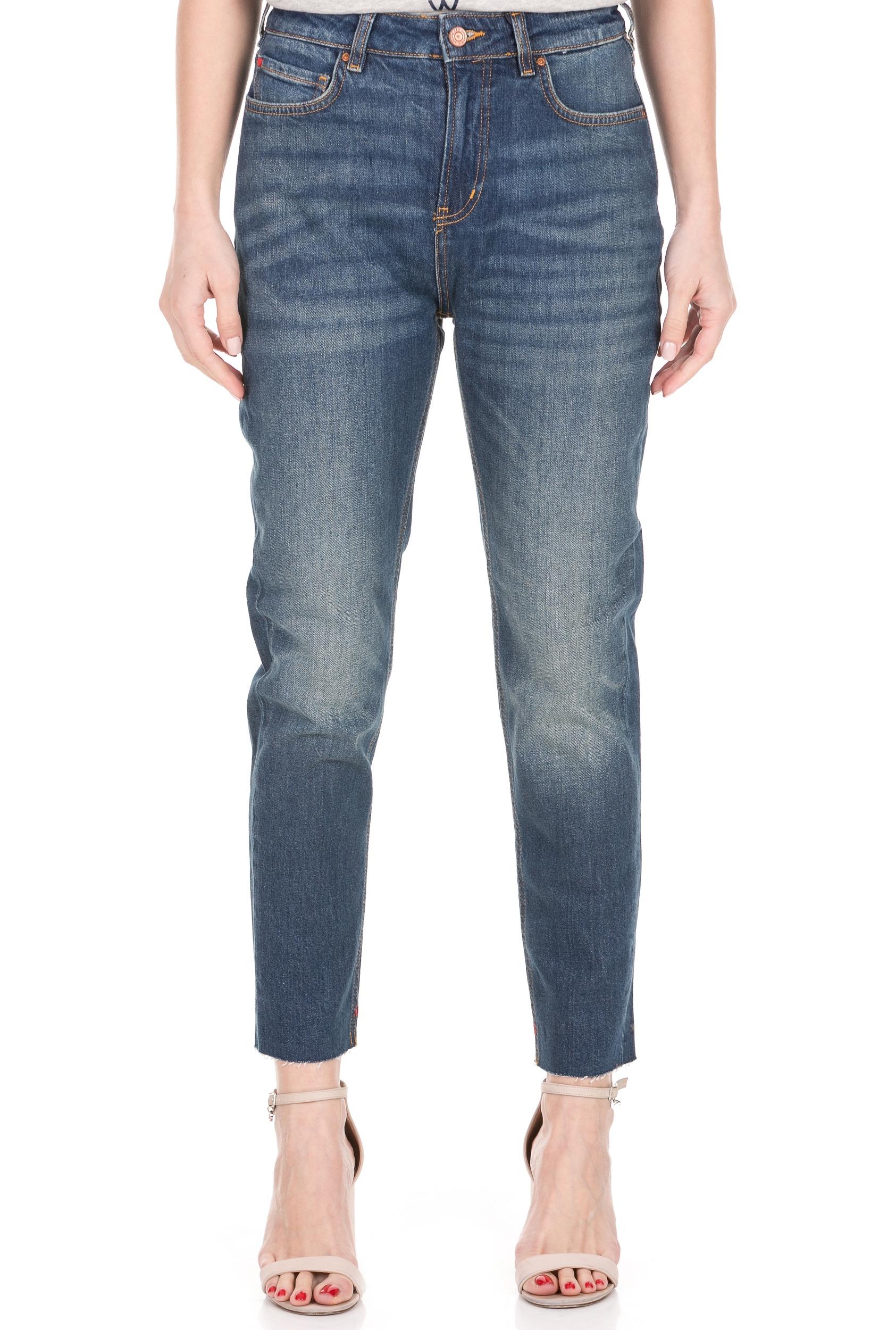 SCOTCH & SODA - Γυναικείο jean παντελόνι SCOTCH & SODA μπλε