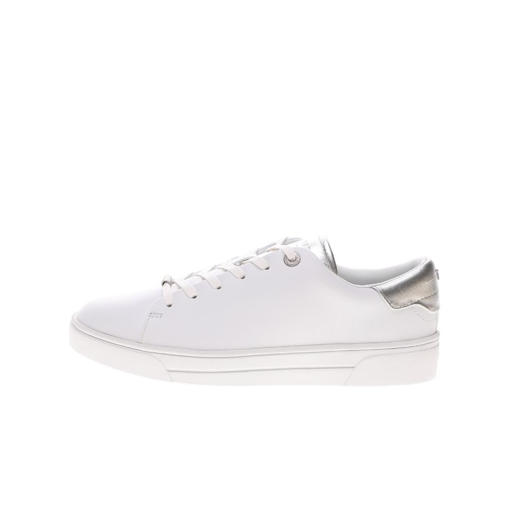 TED BAKER – Γυναικεία sneakers TED BAKER ZENIS EVERGLADE SOCK DETAIL TR λευκά αημί