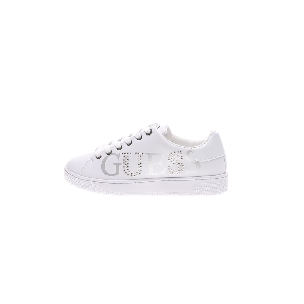 GUESS – Γυναικεία sneakers GUESS RIDERR λευκά