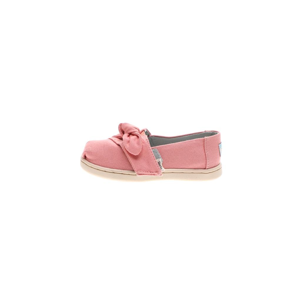 TOMS – Παιδικές εσπαντρίγιες TOMS PLT DYE PNK CVS/BOW TN ALPR ES ροζ