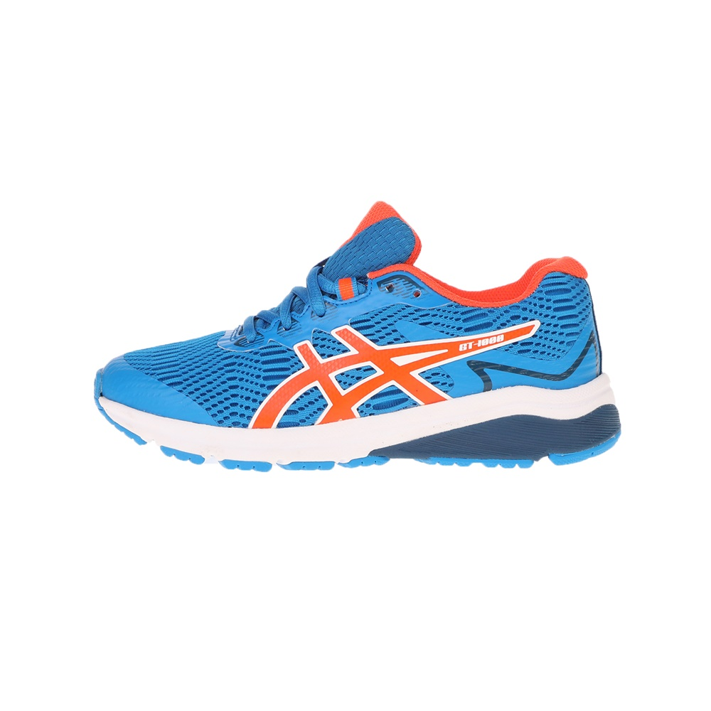ASICS – Παιδικά παπούτσια running ΑSICS GT-10008 GS μπλε πορτοκαλί