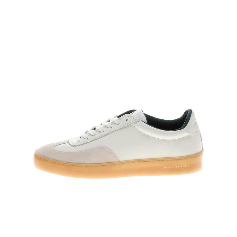 SCOTCH & SODA – Ανδρικά sneakers SCOTCH & SODA PLAKKA λευκά γκρι