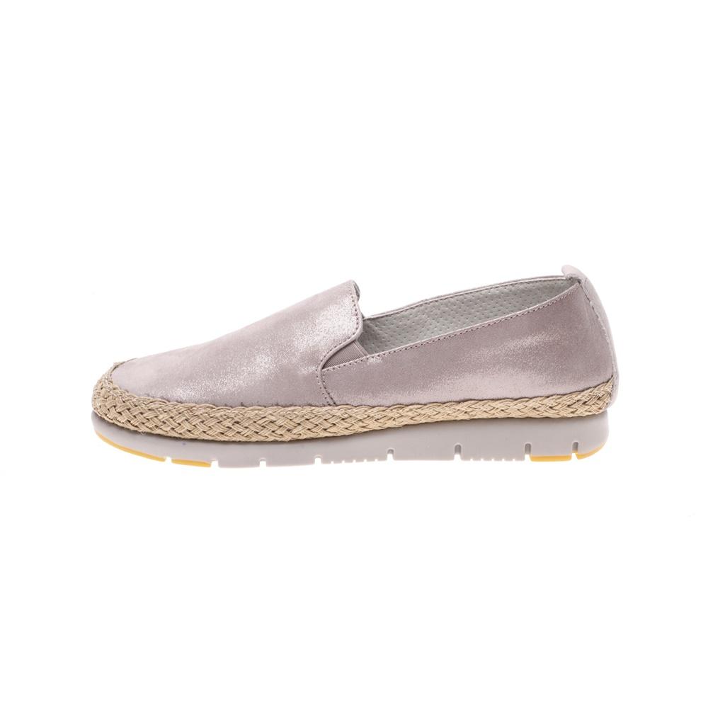 AEROSOLES – Γυναικεία slip on παπούτσια AEROSOLES FUCIL ασημί