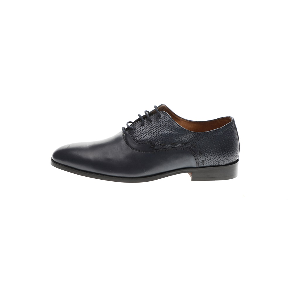 GIACOMO CARLO – Ανδρικά δετά παπούτσια GIACOMO CARLO μπλε
