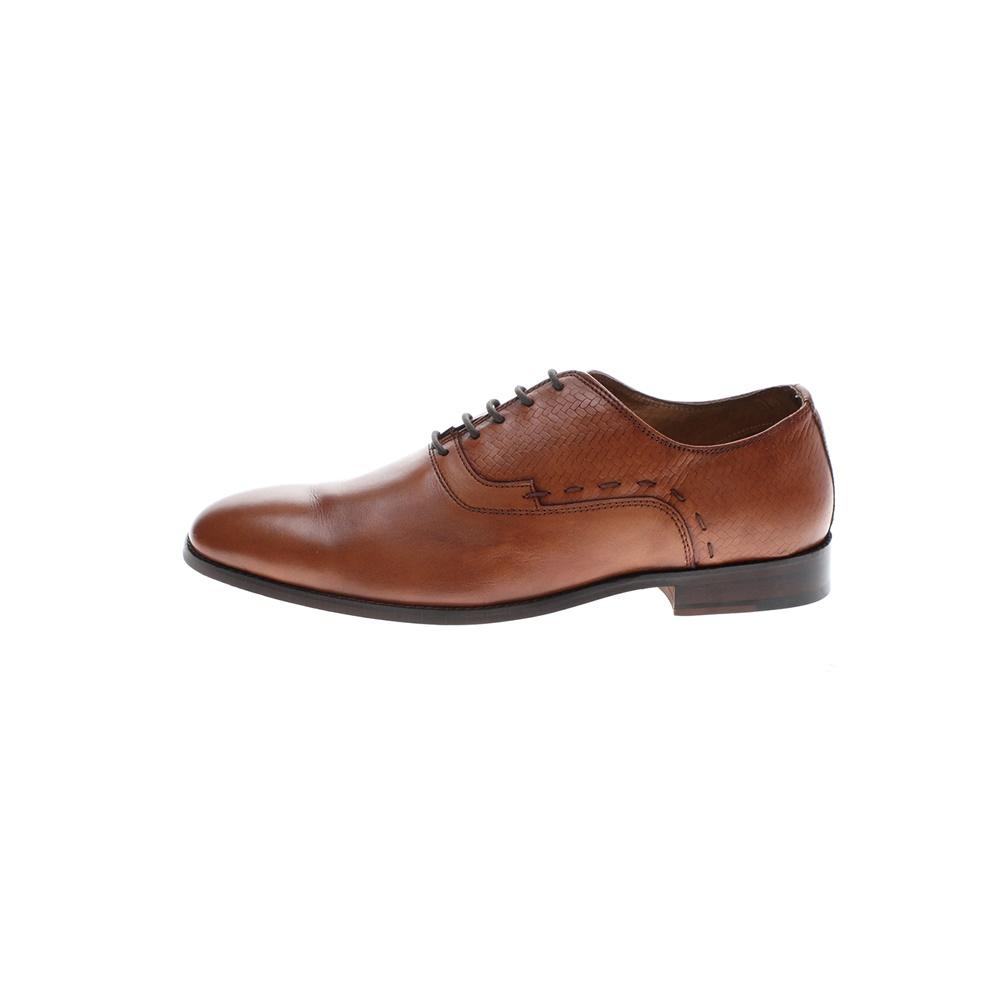 GIACOMO CARLO – Ανδρικά δετά παπούτσια GIACOMO CARLO καφέ