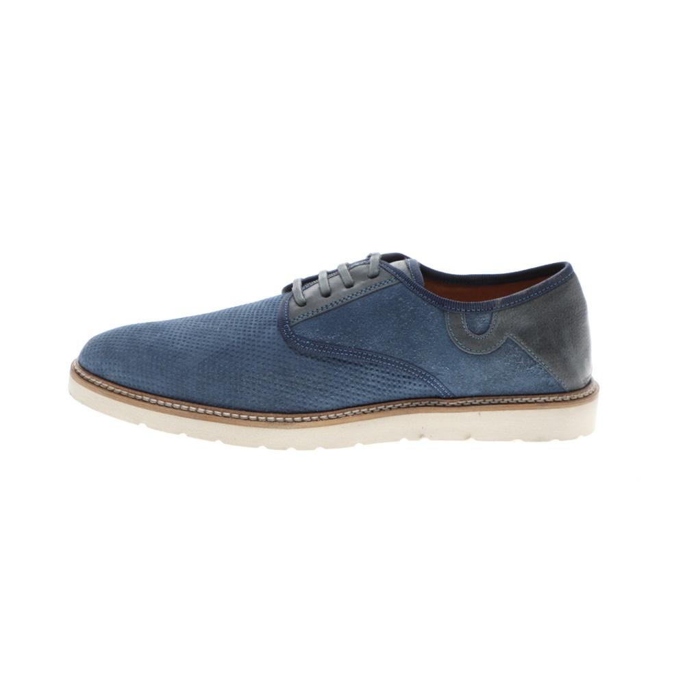 GIACOMO CARLO – Ανδρικά casual δετά παπούτσια GIACOMO CARLO μπλε