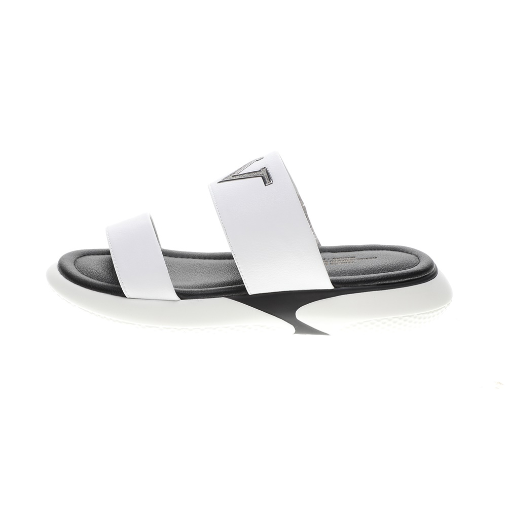 19V69 ITALIA – Γυναικεία σανδάλια slides 19V69 ITALIA λευκά