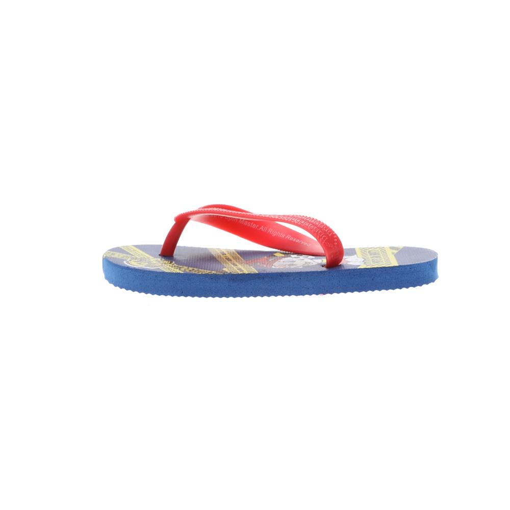 PAW PATROL – Παιδικές σαγιονάρες PAW PATROL μπλε κόκκινες