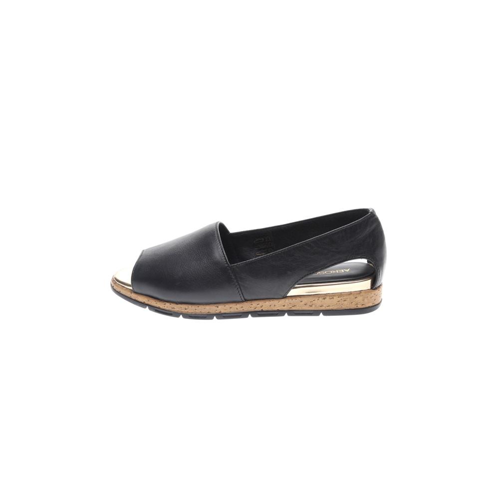 AEROSOLES – Γυναικείες peep toes εσπαντρίγιες AEROSOLES μαύρες