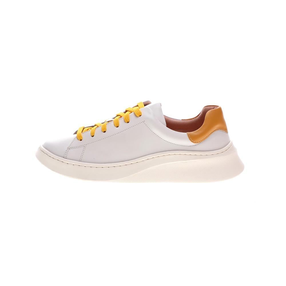 CHANIOTAKIS – Γυναικεία sneakers CHANIOTAKIS TRESOR λευκά κίτρινα