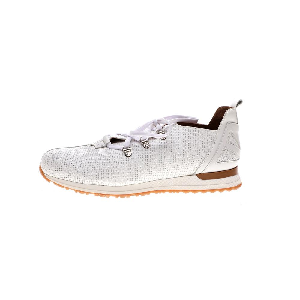 CHANIOTAKIS – Ανδρικά sneakers CHANIOTAKIS SPORT TRESOR-PLAIT λευκά