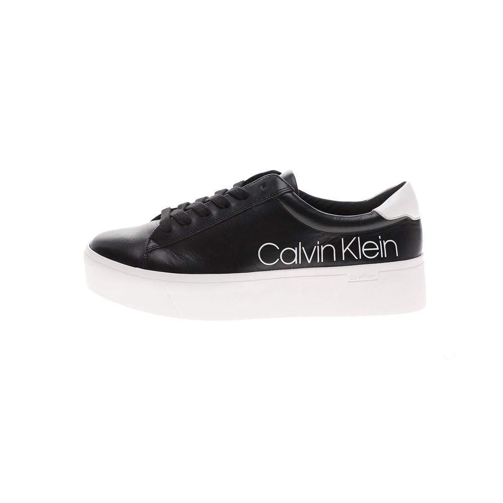CALVIN KLEIN JEANS – Γυναικεία sneakers CALVIN KLEIN JEANS JANIKA μαύρα