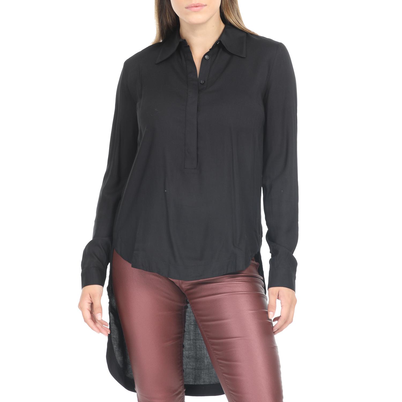 IMPERIAL - Γυναικεία πουκαμίσα IMPERIAL μαύρη