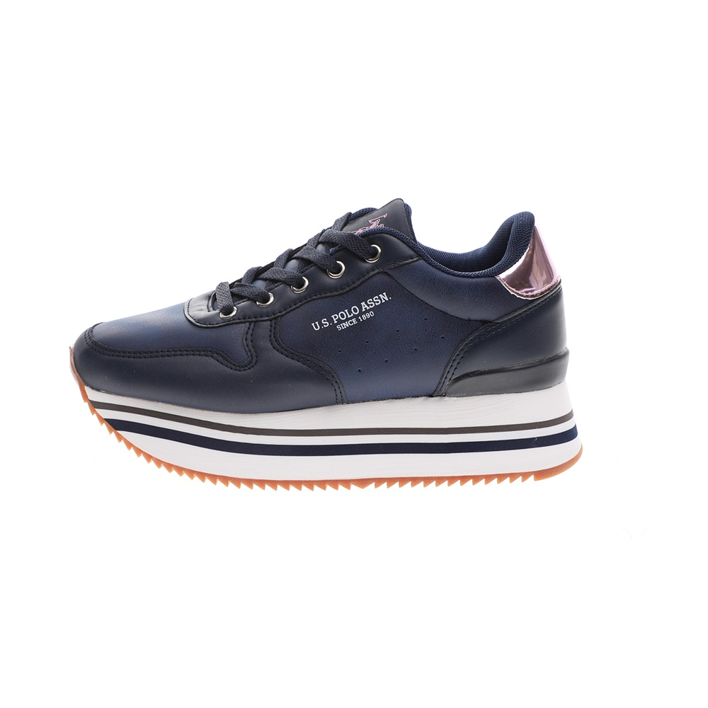 US POLO – Γυναικεία sneakers US POLO VERENA CLUB μπλε