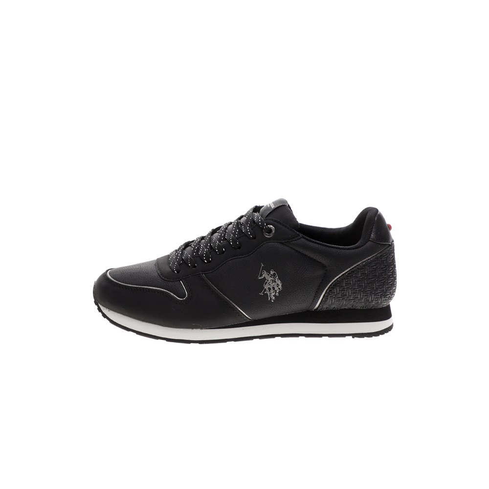 US POLO – Ανδρικά sneakers US POLO SOREN1 CLUB μαύρα