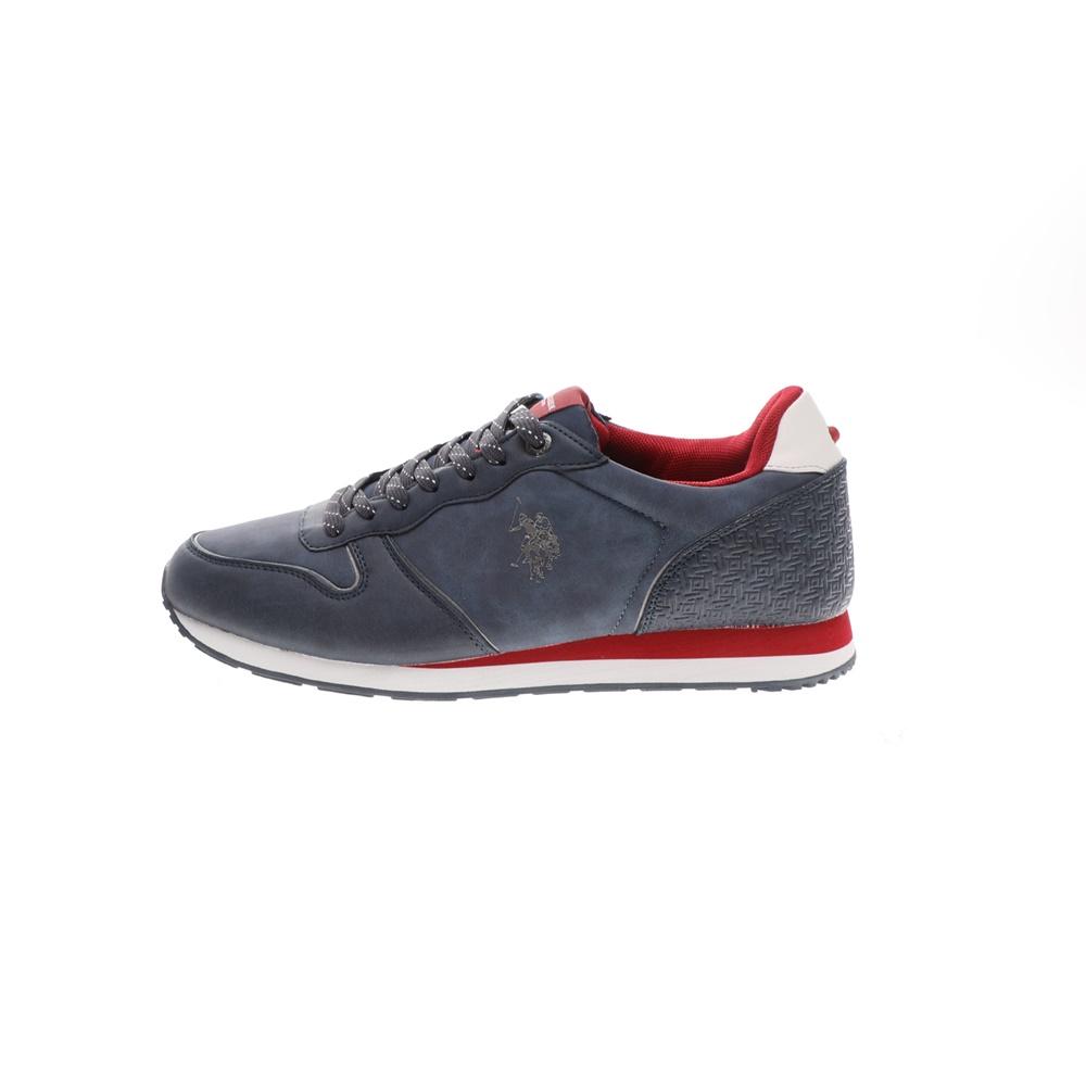 US POLO – Ανδρικά sneakers US POLO SOREN1 CLUB μπλε κόκκινα