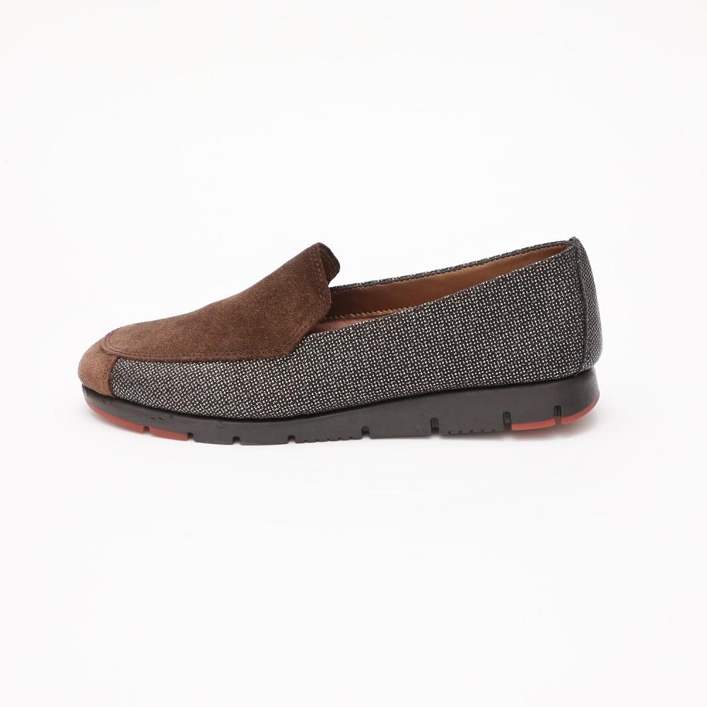 AEROSOLES - Γυναικεία slip on παπούτσια AEROSOLES καφέ