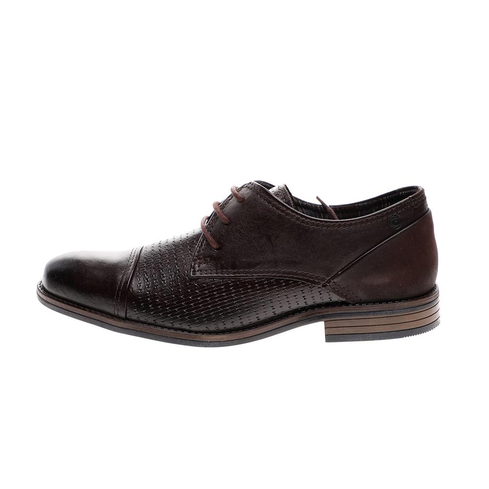 PEGADA – Ανδρικά casual δετά παπούτσια PEGADA καφέ