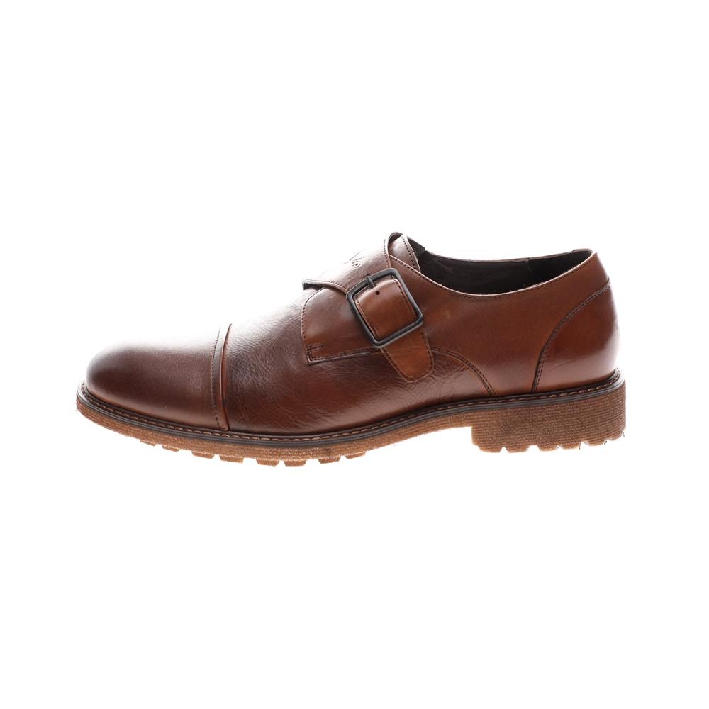 19V69 ITALIA – Ανδρικά παπούτσια MONK BROGUE 19V69 ITALIA καφέ