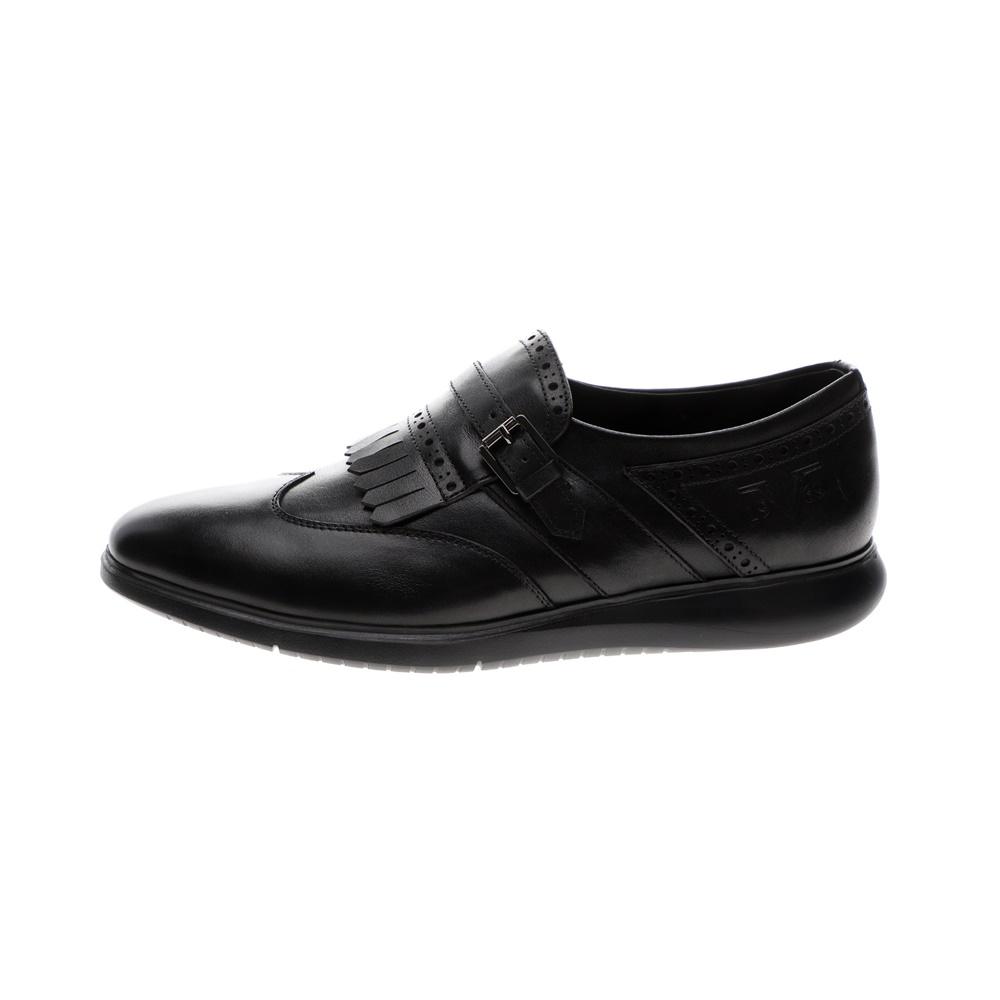 19V69 ITALIA – Ανδρικά παπούτσια MONK BROGUE 19V69 ITALIA μαύρα