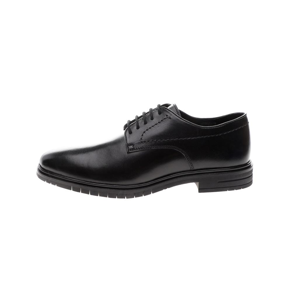 GIACOMO CARLO – Ανδρικά δετά παπούτσια GIACOMO CARLO μαύρα