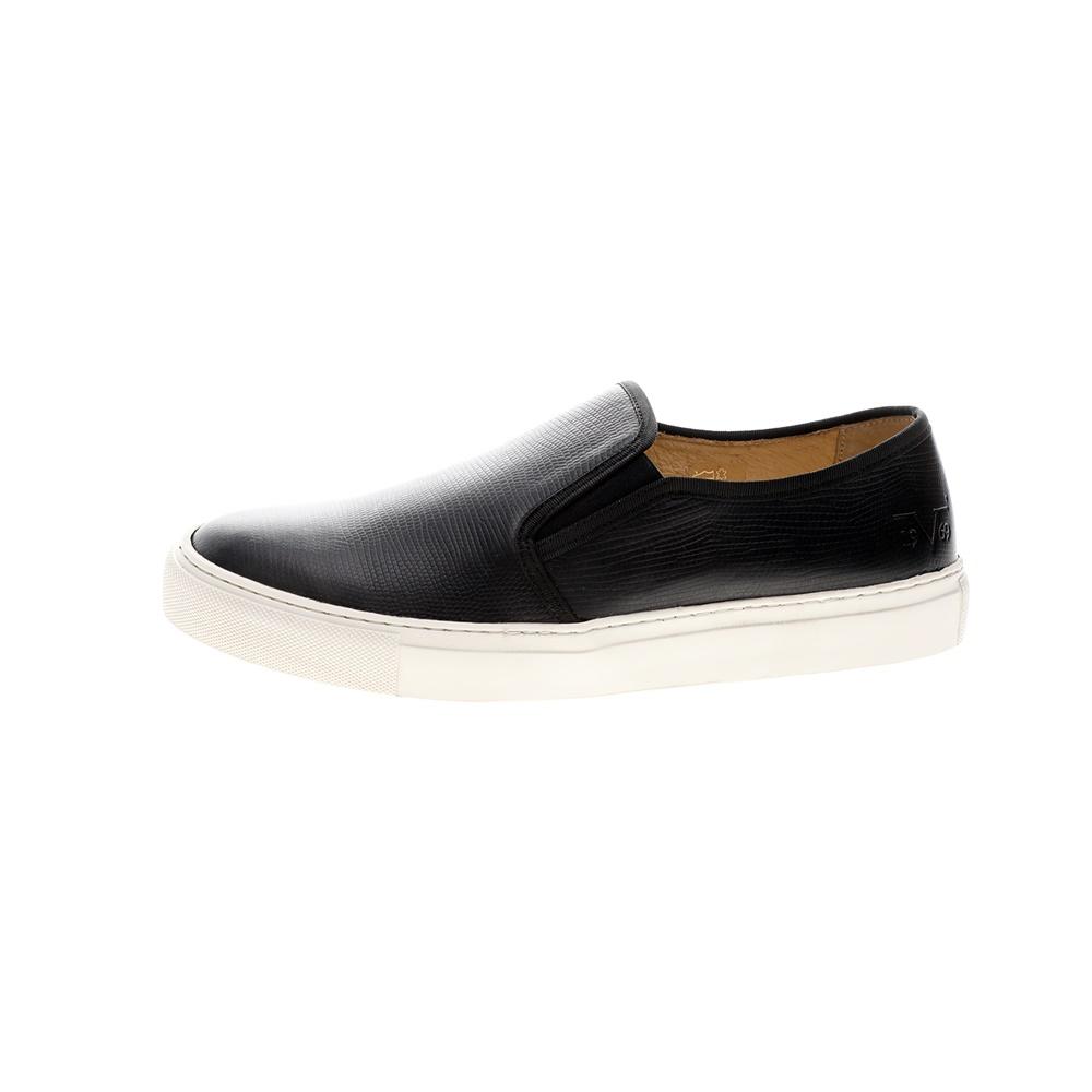 19V69 ITALIA – Ανδρικά παπούτσια slip on 19V69 ITALIA μαύρα