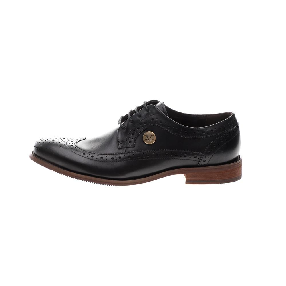 19V69 ITALIA – Ανδρικά δετά παπούτσια 19V69 ITALIA μαύρα