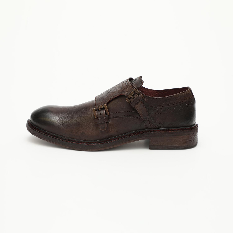 HARRY BENETT – Ανδρικά παπούτσια HARRY BENETT καφέ