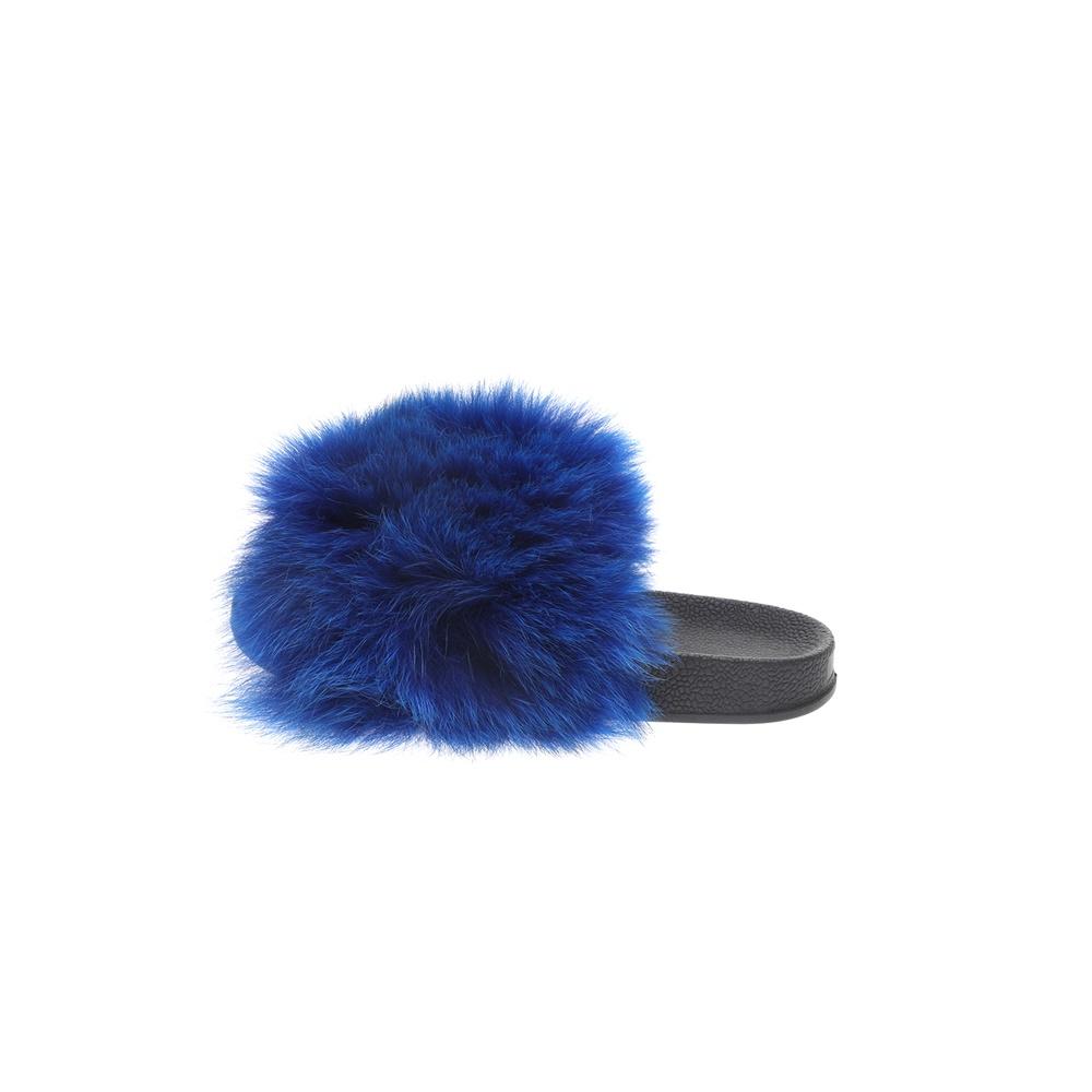 RITSELFURS – Γυναικεία sliders RITSELFURS FOX μπλε