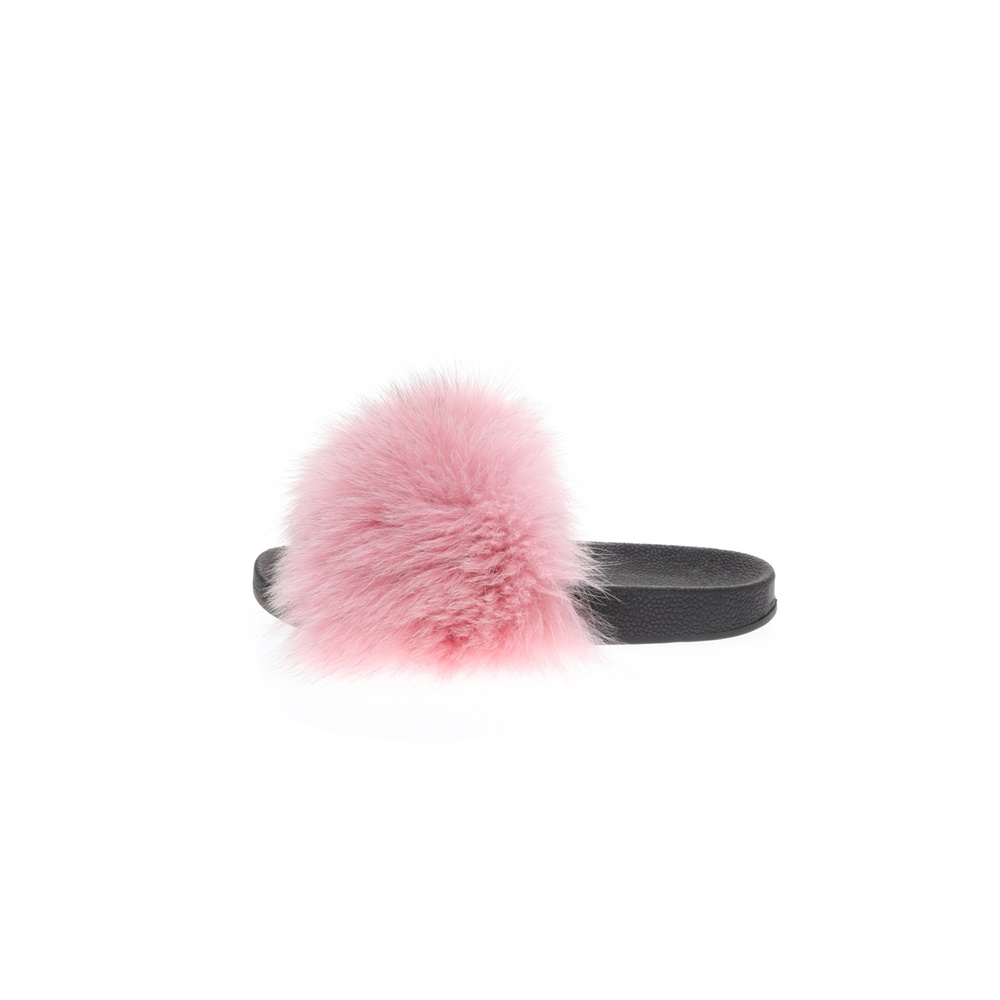 RITSELFURS – Γυναικεία sliders RITSELFURS FOX ροζ